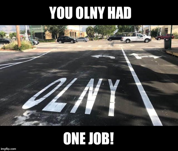 Funny Handicap Parking Spot Dump A Day You Had One Job Funny