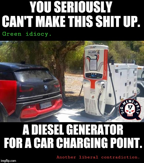 Am I The Only One Amused By The Idea Of An Electric Car Charging