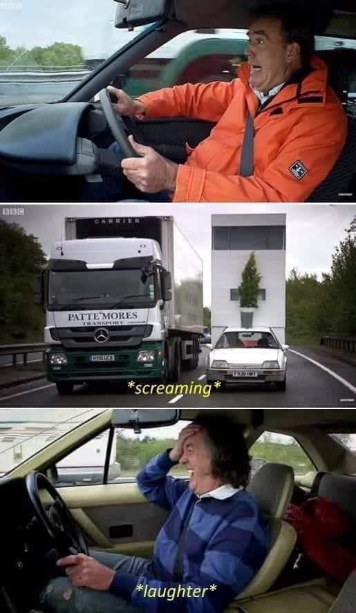 Top Gear Screaming Blank Template Imgflip