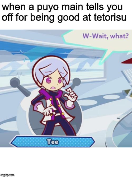 A Relatable Puyo Puyo Tetris Meme Imgflip