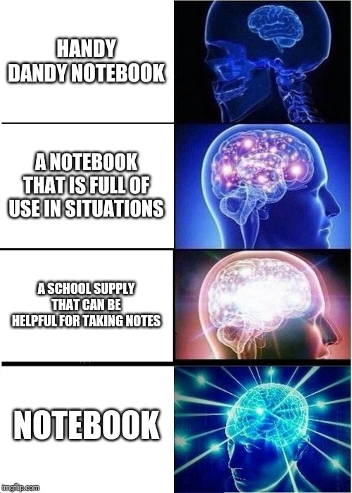 Handy Dandy Notebook By Necrophilia Meme Center