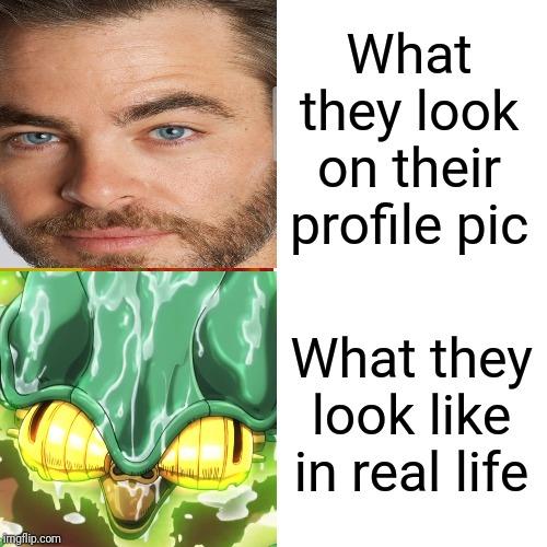 Image Tagged In Jojo S Bizarre Adventure Profile Picture Funny