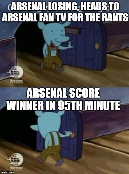 Arsenal Fan Tv Imgflip