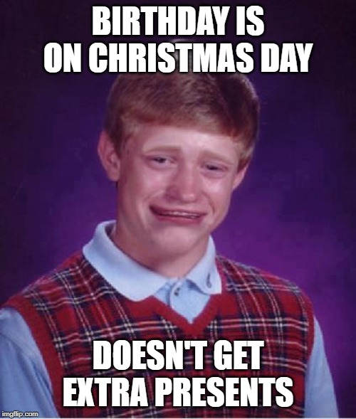 Bad Luck Brian Cry Imgflip