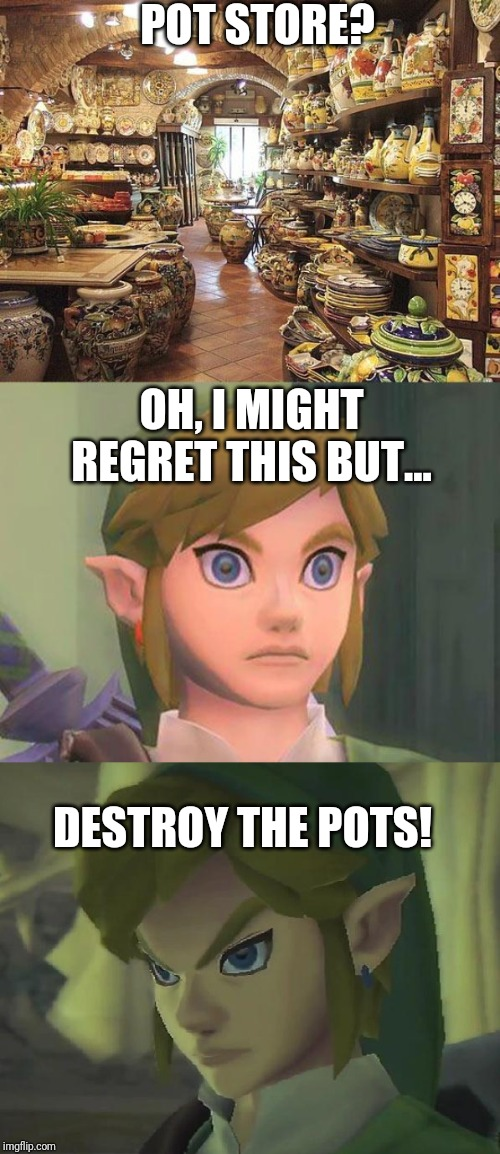 Image Tagged In Angry Link Zelda Imgflip