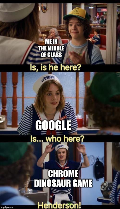 Chrome Dinosaur Memes Best Collection Of Funny Chrome Dinosaur