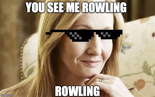J K Rowling Is A Transphobic Cunt George Carlin Meme Make A Meme