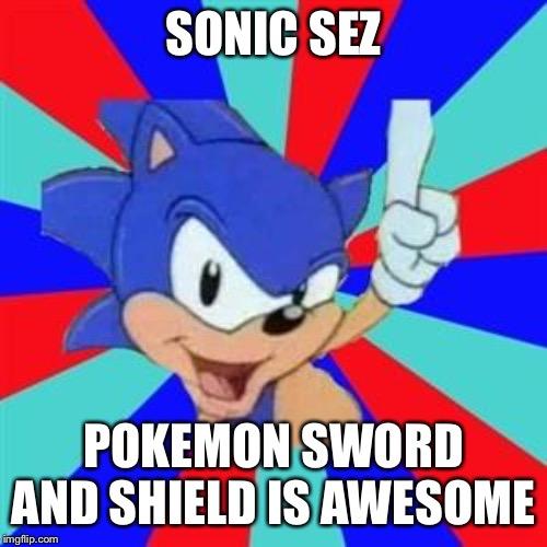 Sonic Sez Imgflip