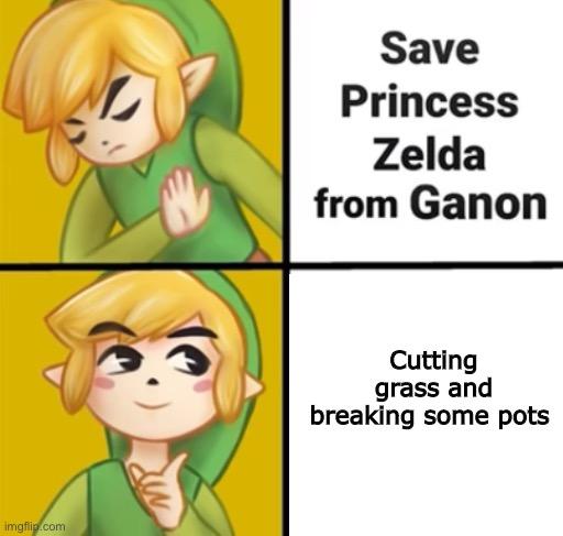 Me When I Play Zelda Imgflip