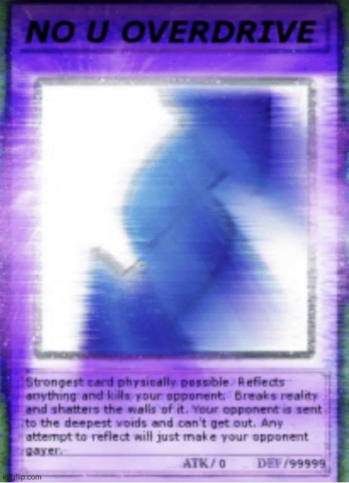 No U Overdrive Yu Gi Oh Card Imgflip