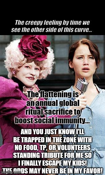 Taste The Rainbow Peeta I Think Katniss Has Had A Little Too