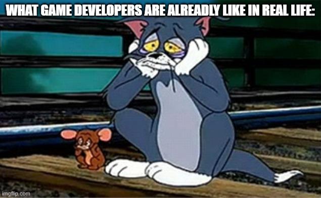 Sad Railroad Tom And Jerry Imgflip