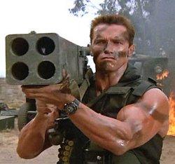 Forest Predator Twilight Arnold Schwarzenegger Funny