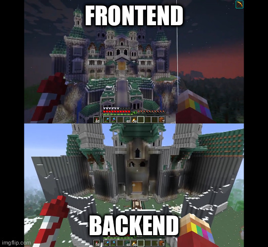 My Visual Guide To Telling The Difference Between Backend And