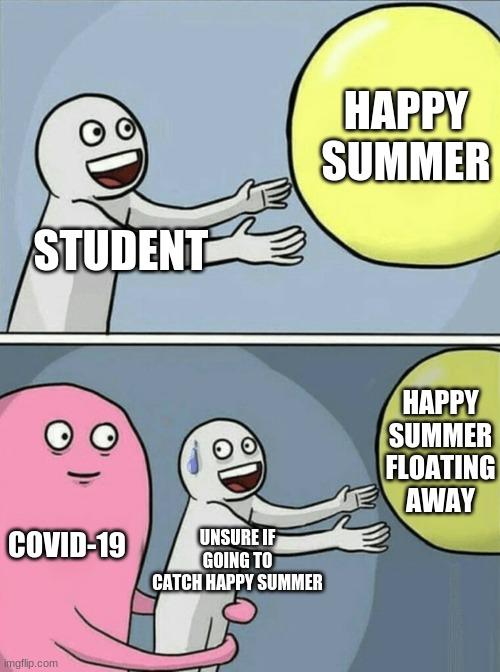 Running Away Balloon Meme Imgflip