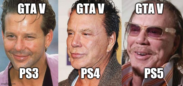 Playstation Announce Gta For Ps5 Imgflip