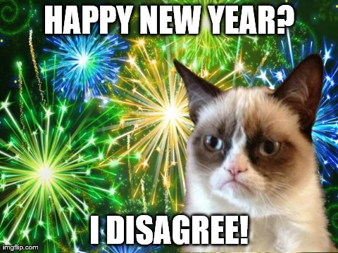 New year cat? Not really!