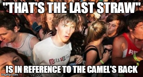 Just realized