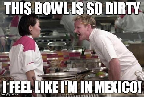 Angry Chef Gordon Ramsay