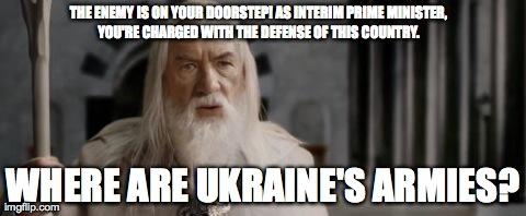 Where are Ukraine's Armies?