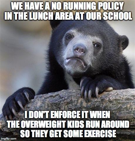 Kinda feel guilty, but not...