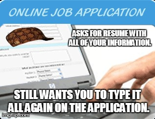 Scumbag Online Applications