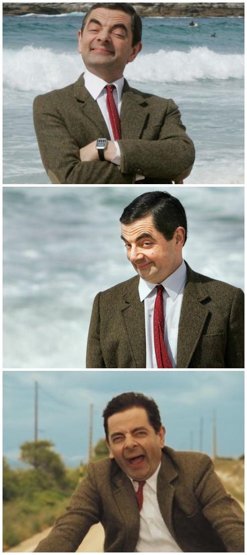 Mr Bean Blank Template Imgflip