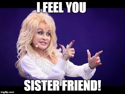 Dolly Parton See Friends At Party Imgflip