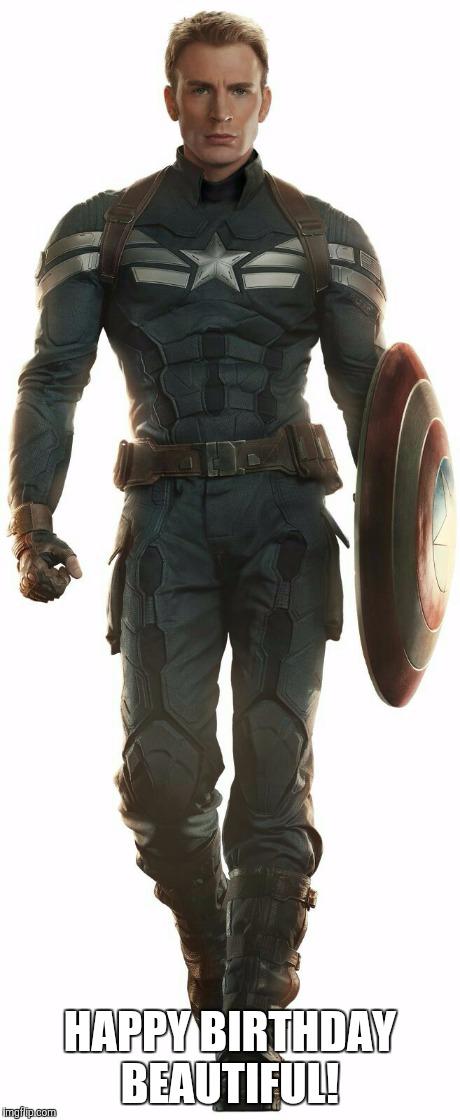 Captain America Happy Birthday Meme