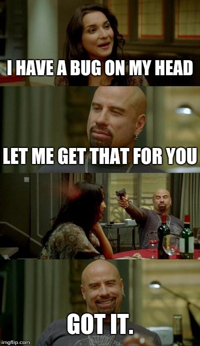Skinhead John Travolta Meme Imgflip