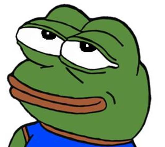 Pepe Happy Blank Template Imgflip