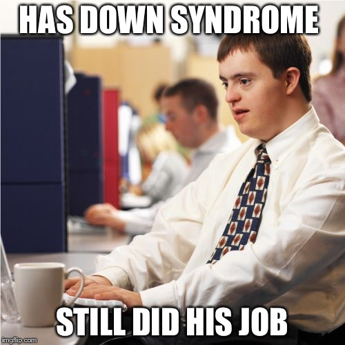 Down Syndrome Bear Approved Make A Meme