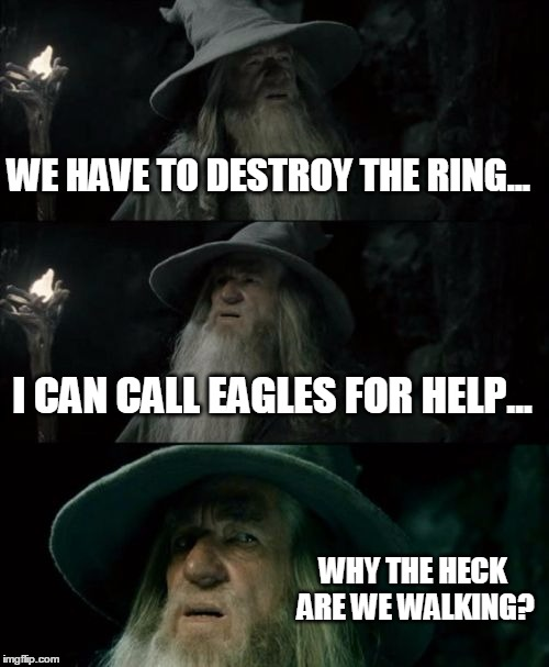 Confused Gandalf Meme Imgflip