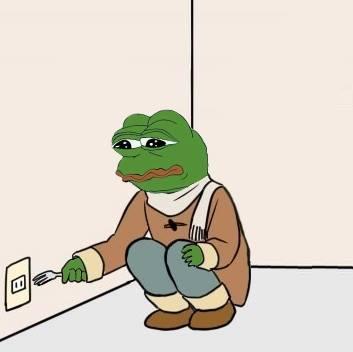 Pepe With Fork Meme Generator Imgflip