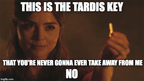 My Name Is Clare Not Clara Clara Oswald Doctor Who Meme Generator