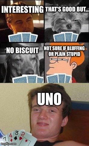 Cards Night Meme Style Imgflip