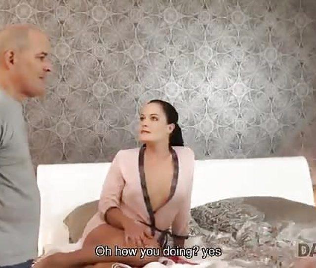 Hot Girl Enjoys Fucking Old Man