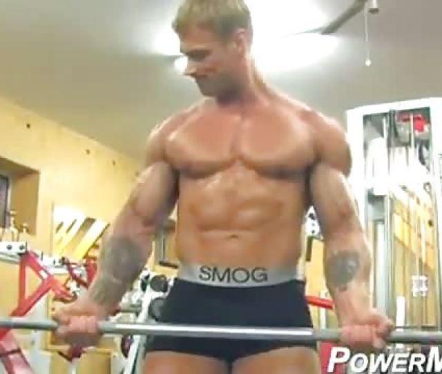 Mazing Blonde Bodybuilder
