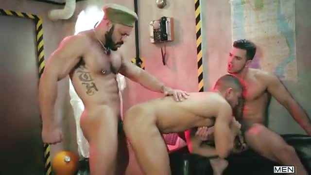 Three Way Fuck In A Bunker