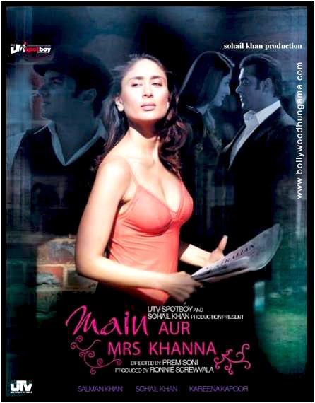 Main Aurr Mrs Khanna, Salman Khan,Kareena Kapoor,Sohail Khan,Govinda,Preity Zinta,Sajid