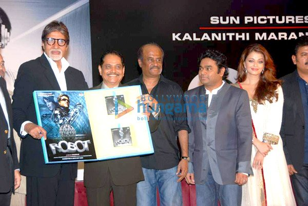 Audio release of 'Enthiran - The Robot'