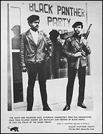 Members of The Black Panthers Party