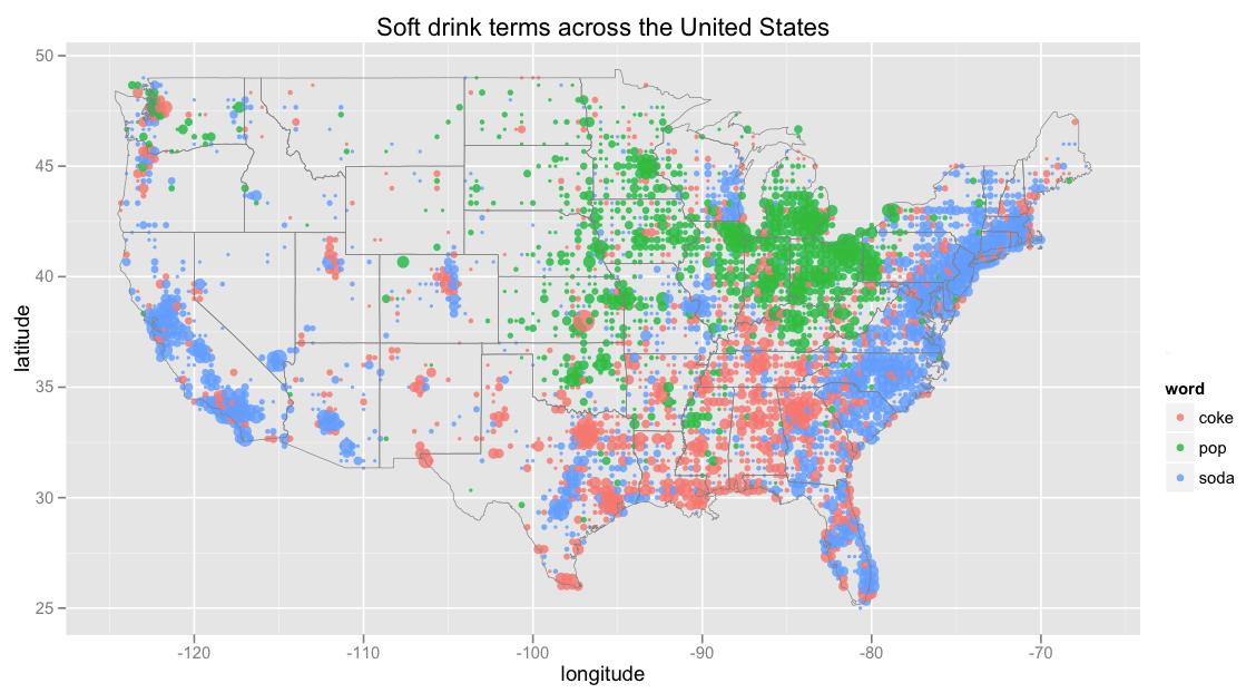 Soda Vs Pop Map Business Insider