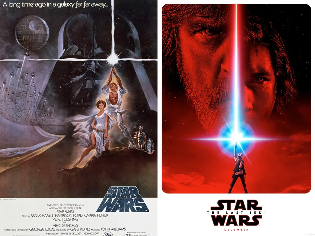 star wars revenge of the jedi posters