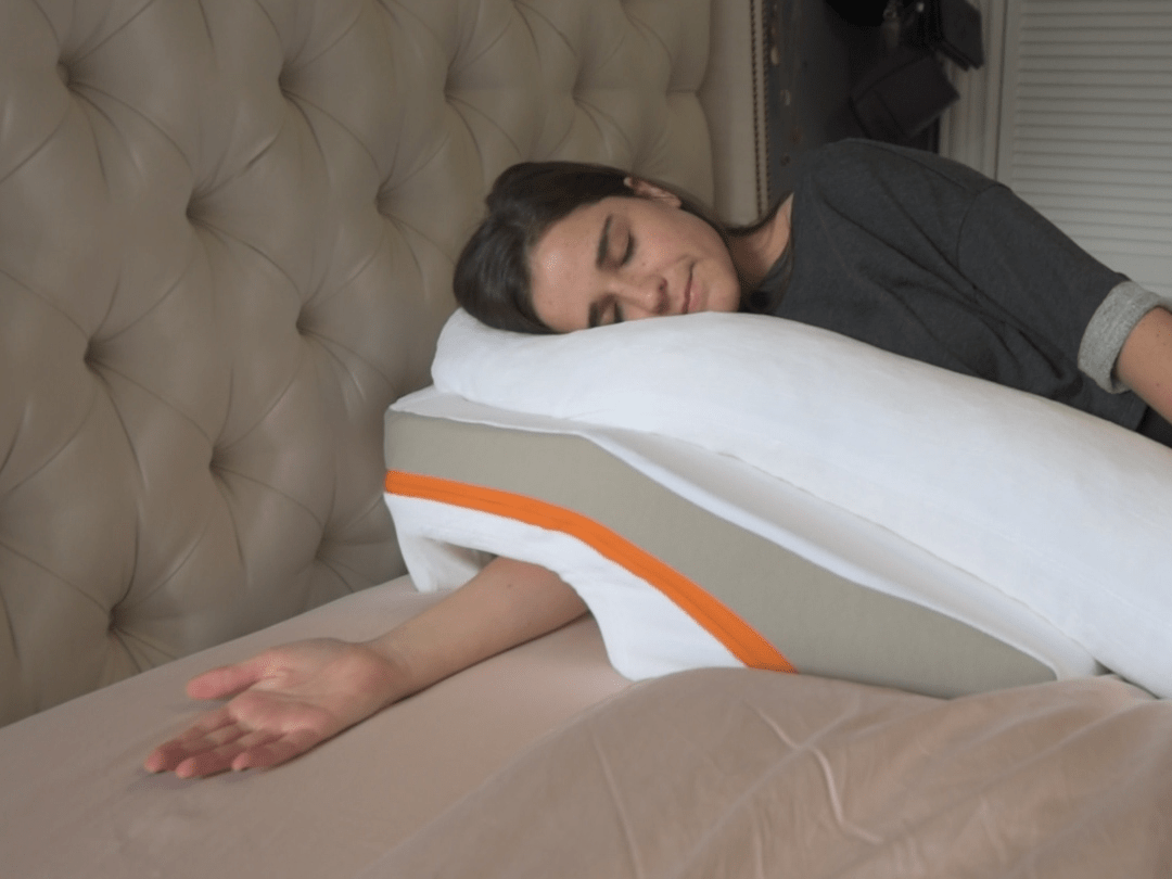 this pillow claims to reduce acid reflux symptoms i decided to try it