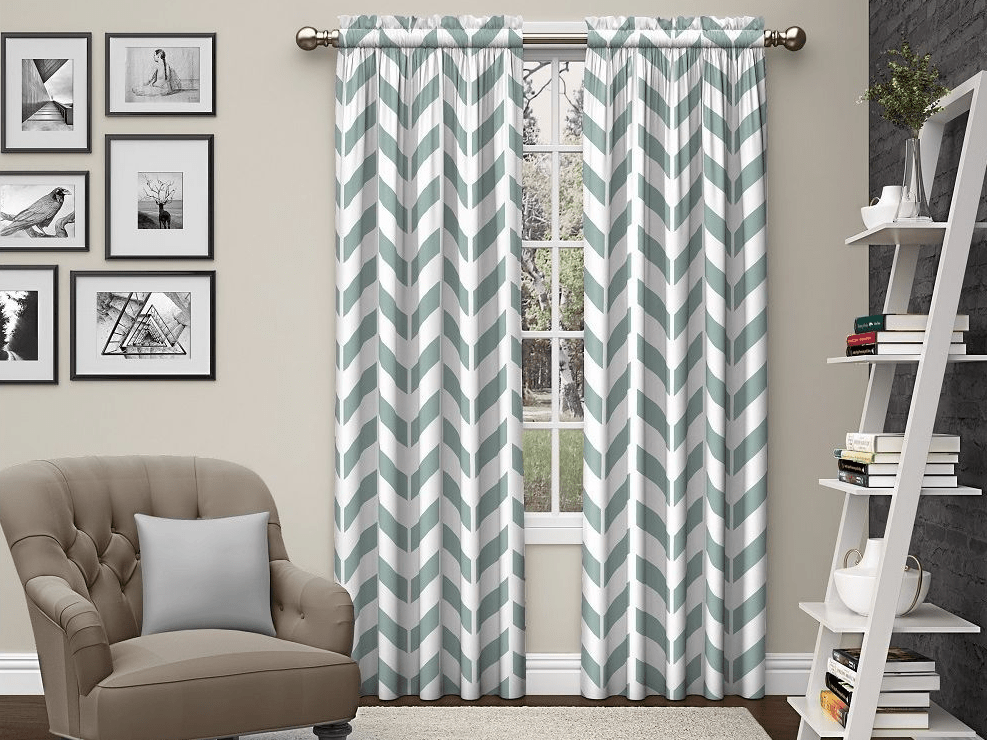 how to hang curtains with curtain rods