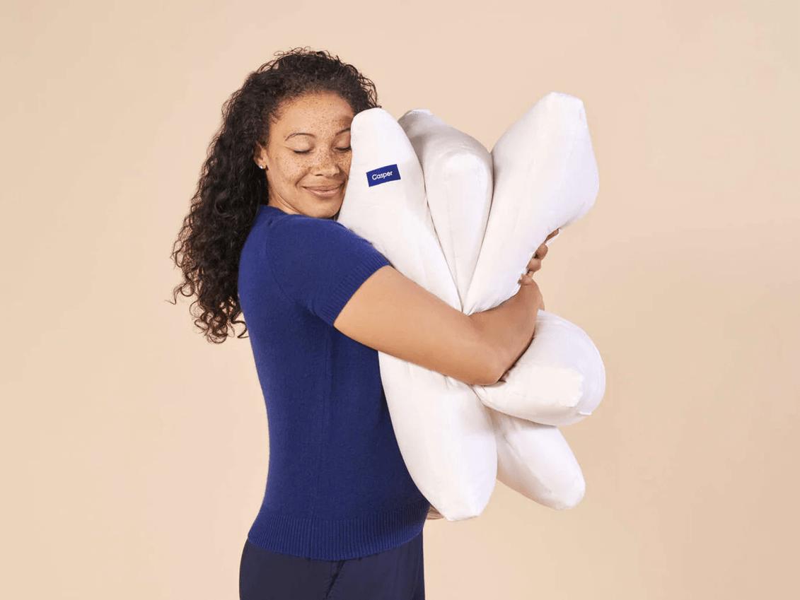 casper down pillow review airy