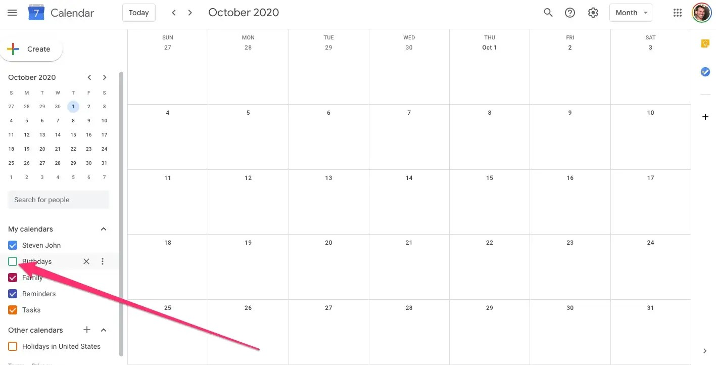 How To Remove Birthdays From Your Google Calendar