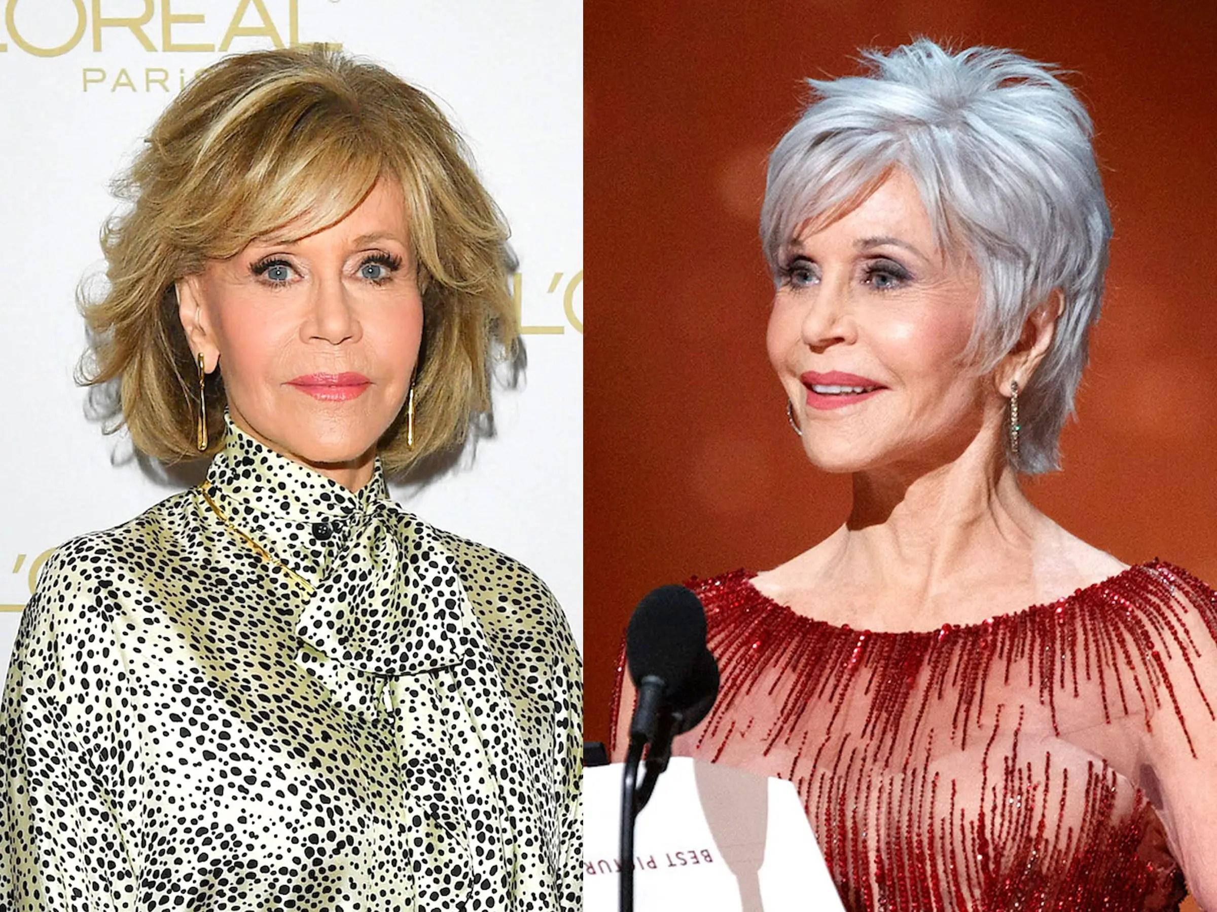 Jane Fonda Sharon Osbourne Have Gone Gray With Help Of Jack Martin Insider