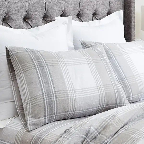 flannel pillowcases